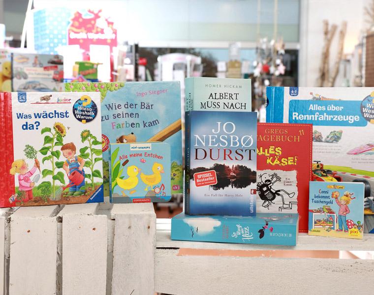 Sachbücher, Romane, Kinderbücher Papierschlange