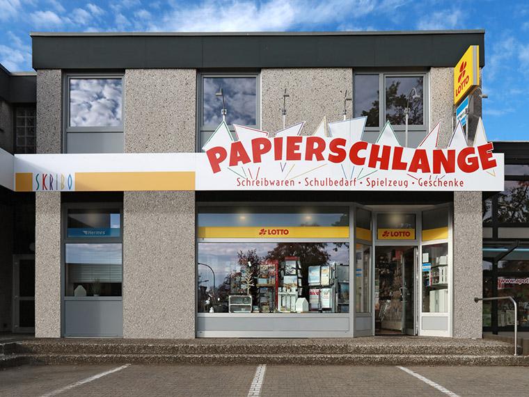 Papierschlange Groß Schwülper